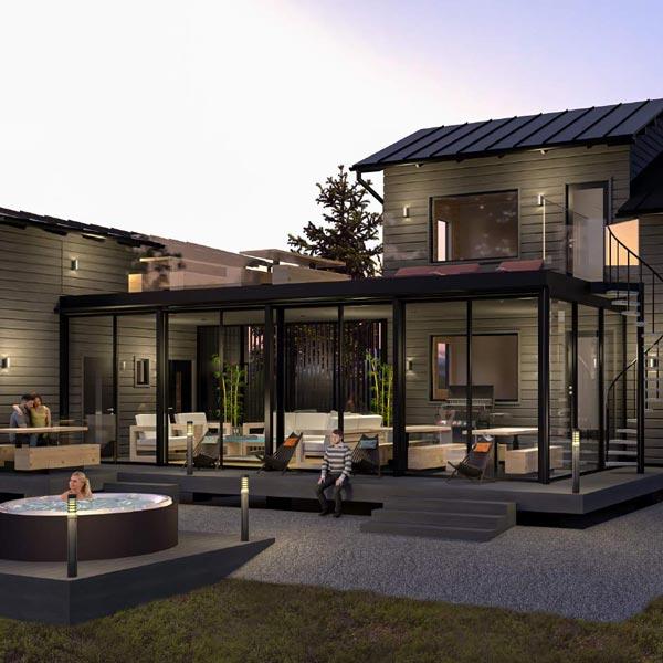Villa Griini tarjoaa luksuspuitteet vuodenajasta riippumatta.